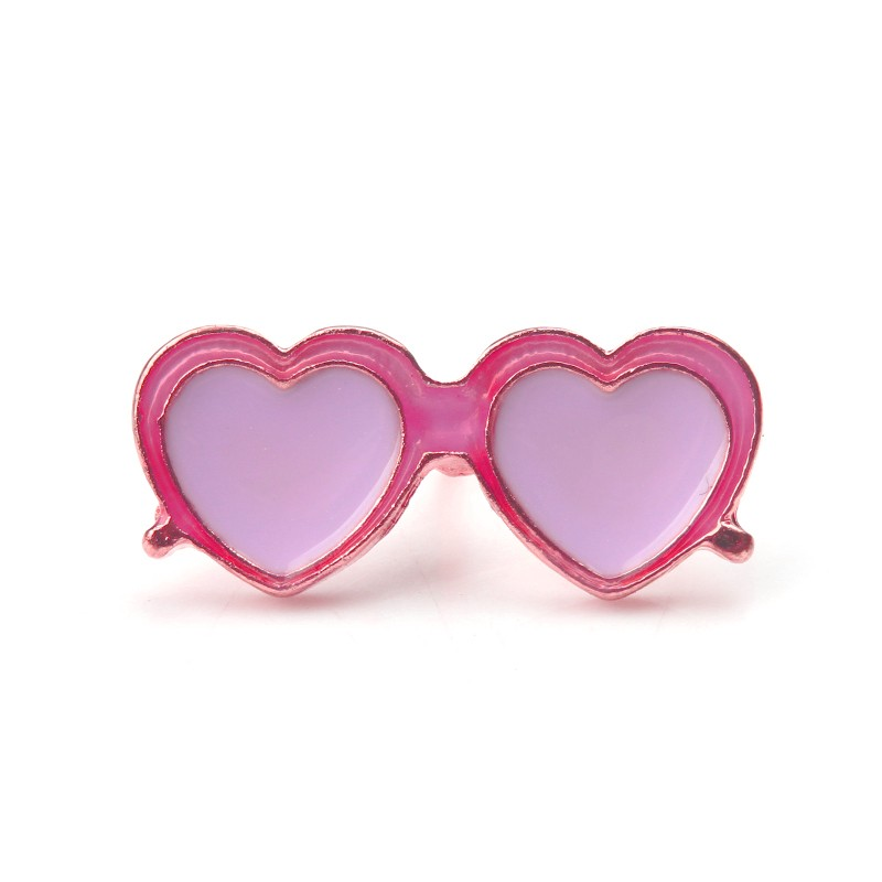 Значок Розовые очки