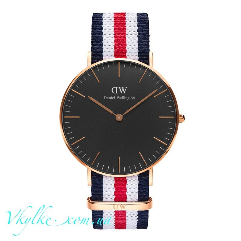 Часы DANIEL WELLINGTON BLACK CANTERBURY