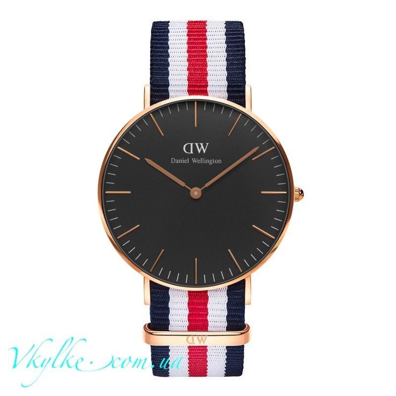 Часы DANIEL WELLINGTON BLACK CANTERBURY