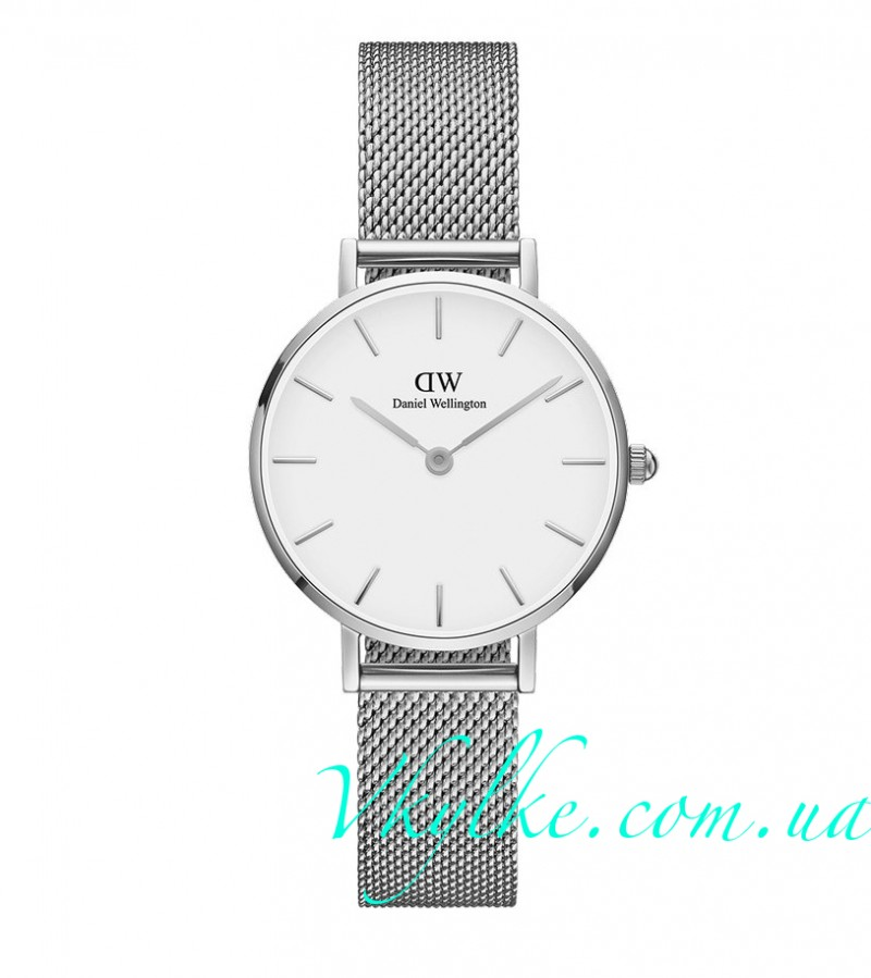 Женские часы DANIEL WELLINGTON STERLING white display