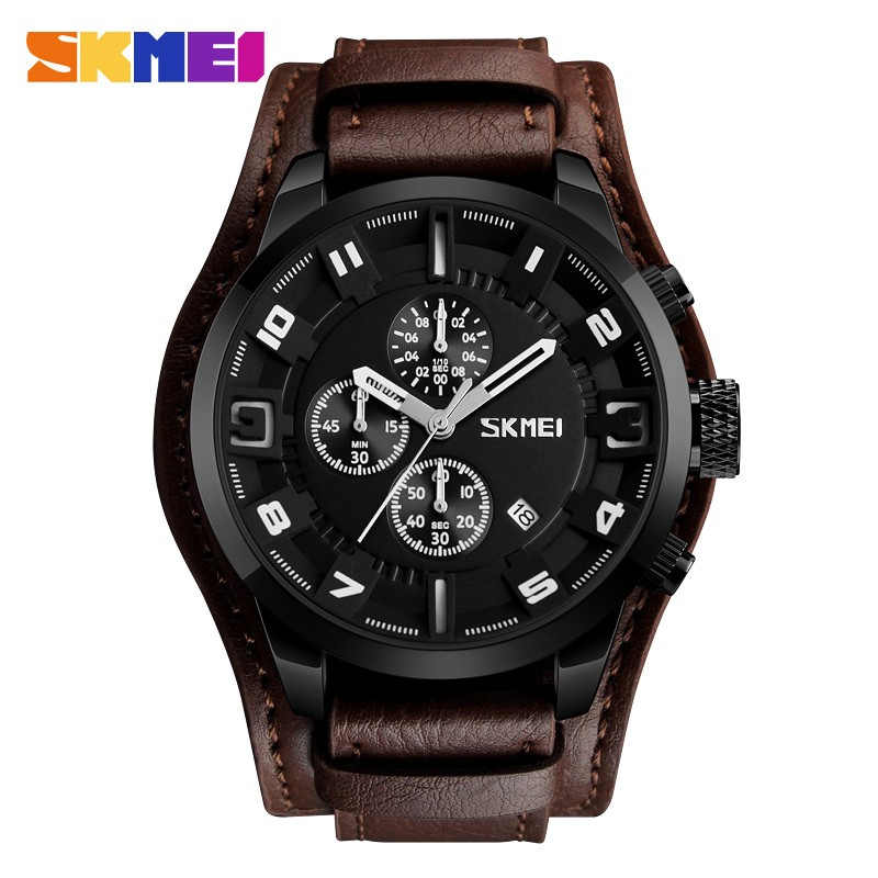 ЧАСЫ SKMEI 9165 Brown Black