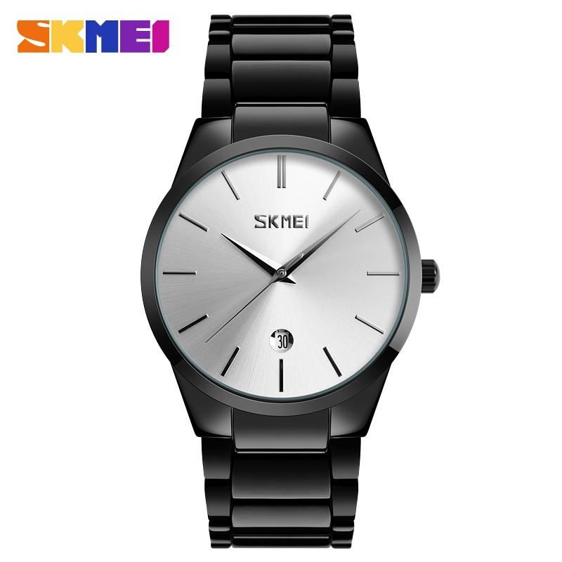 Skmei 9140 black silver