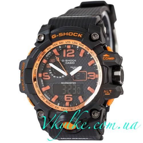 Casio G-Shock GWG-1000 черные с оранжевым