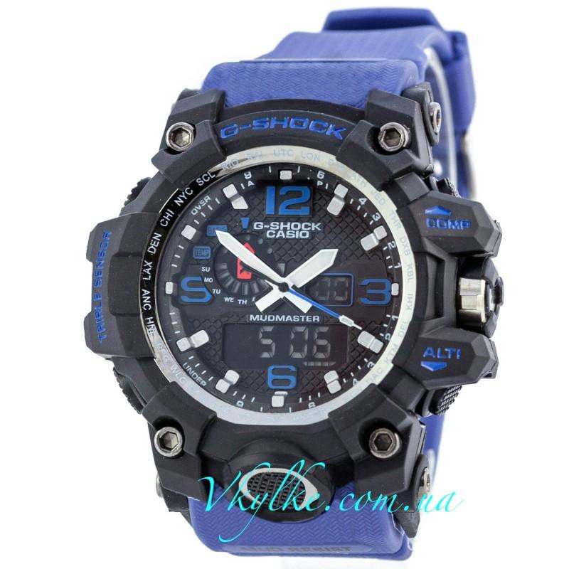 Часы G SHOCK GWG-A1000 MUDMASTER Синие