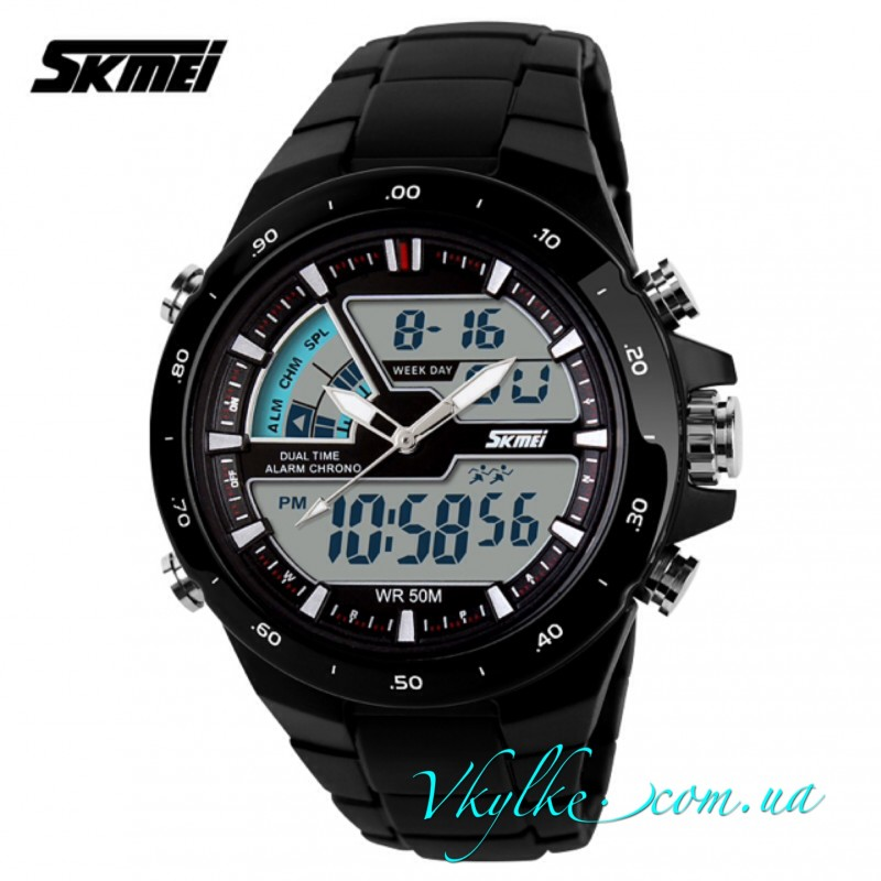 Skmei Sport Dive (1016) черного цвета