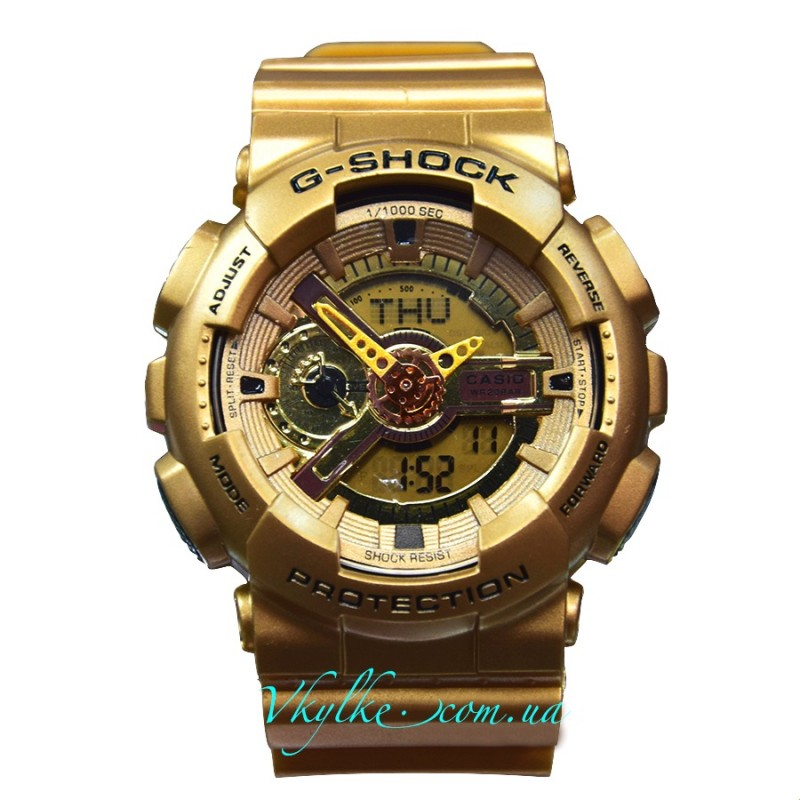 Casio G-Shock GA-110 золотые