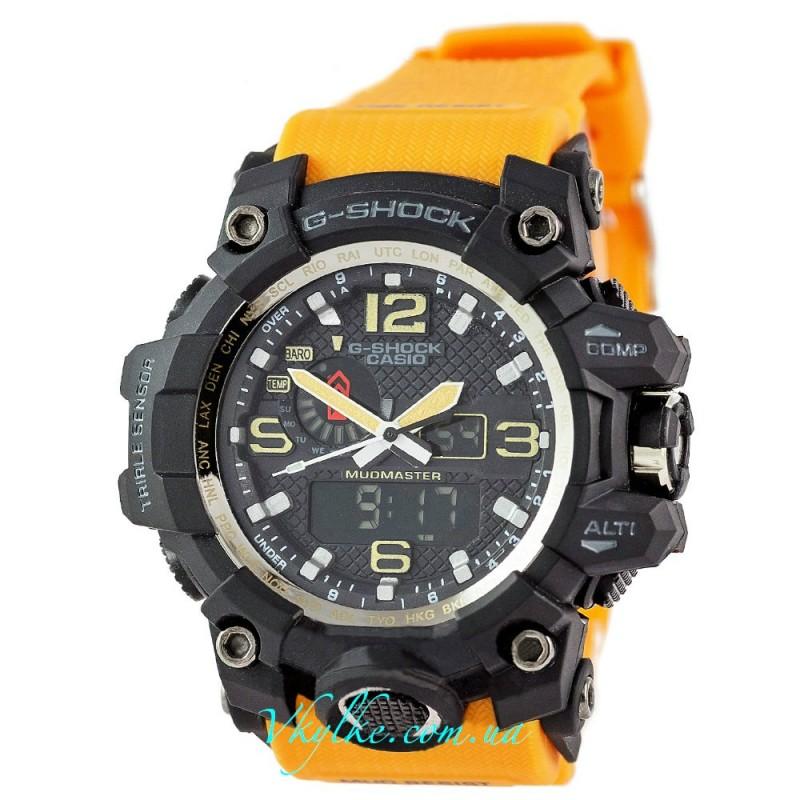Часы G Shock GWG-A1000 MUDMASTER  оранжевые