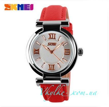 Женские часы Skmei 9075 красные