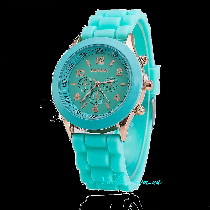 Часы Geneva мятного цвета