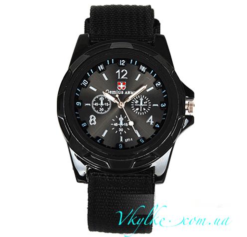 Мужские часы Gemius ARMY черного цвета