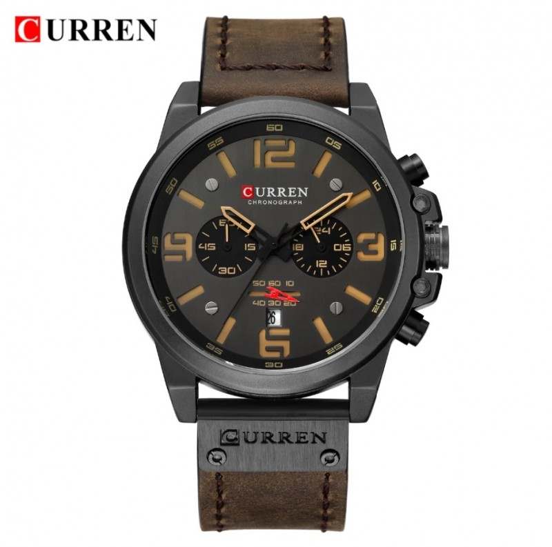 ЧАСЫ CURREN 8314  brown