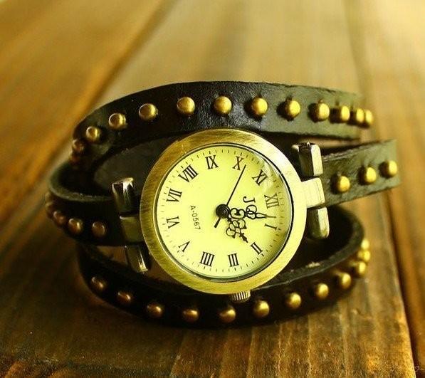 Часы JQ черного цвета