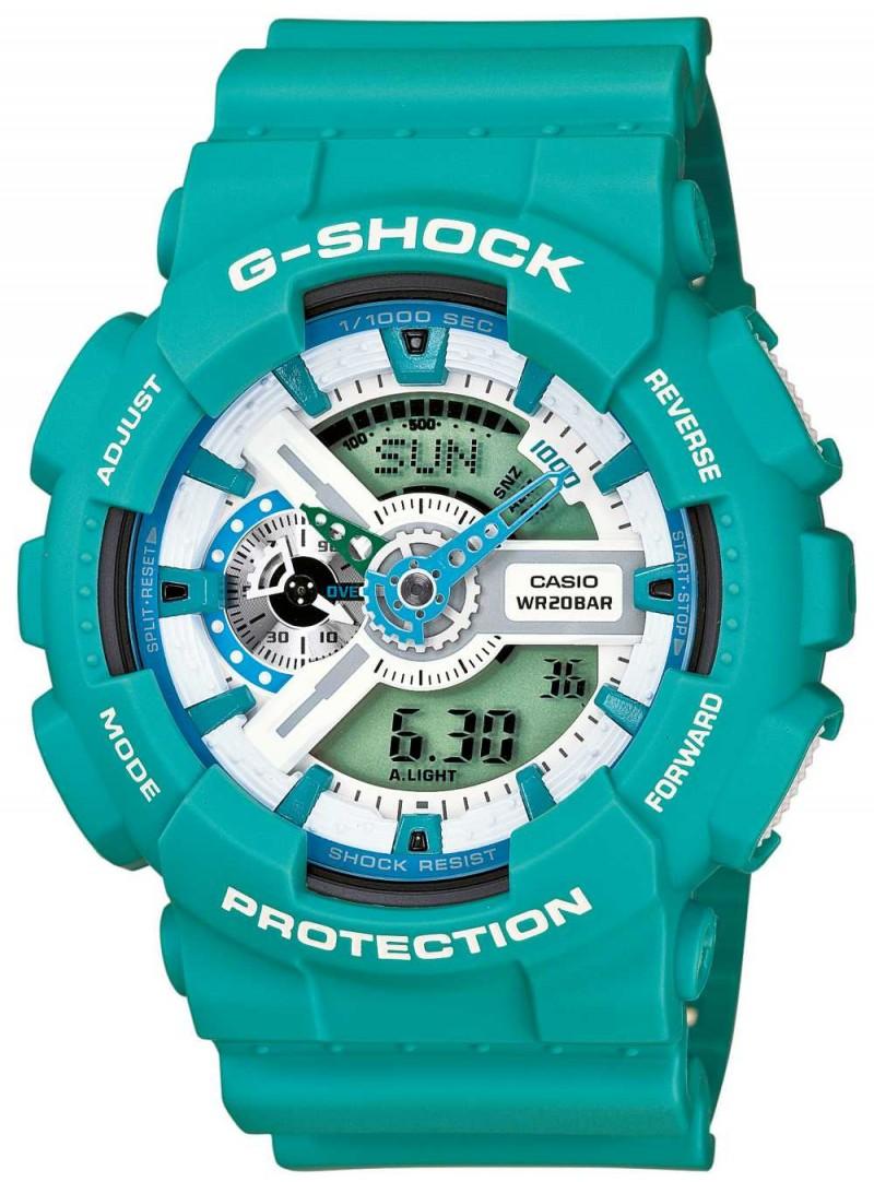 Casio G-Shock GA-110SN-3AER бирюзовые