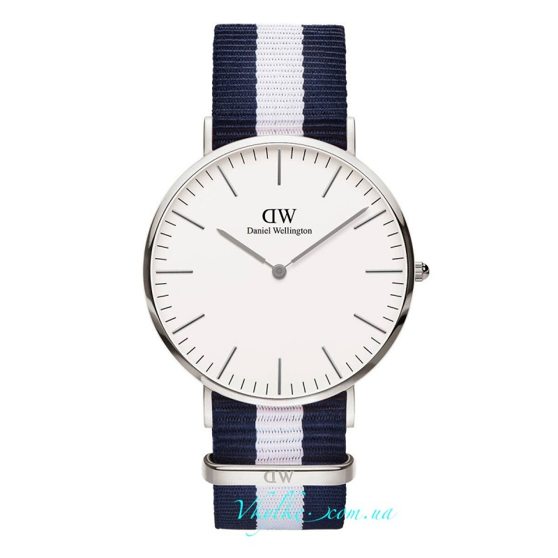 Daniel Wellington Classic Glasgow серебро