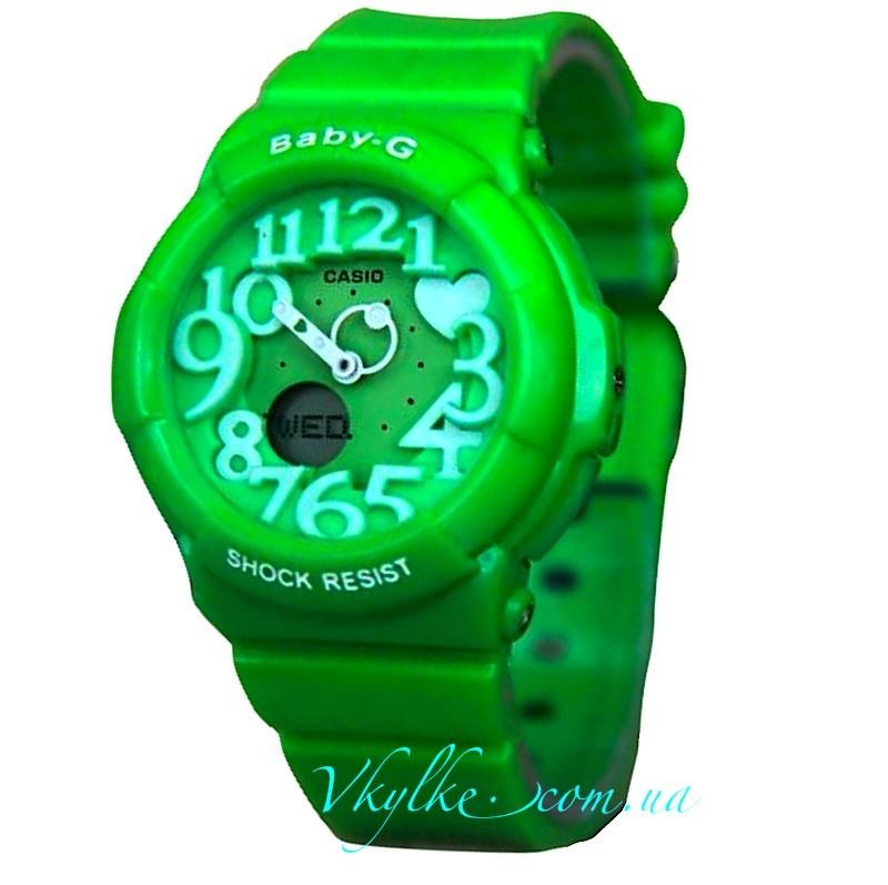 Casio Baby-G BGD-133 зеленые