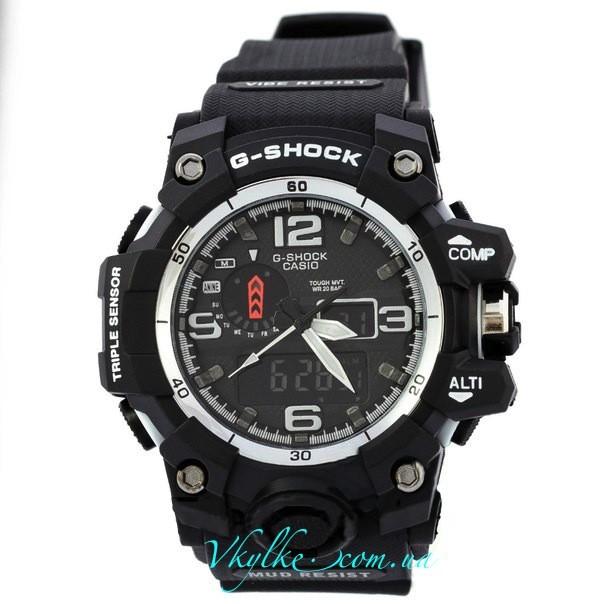 Часы G Shock GWG-A1000 MUDMASTER черные с белым