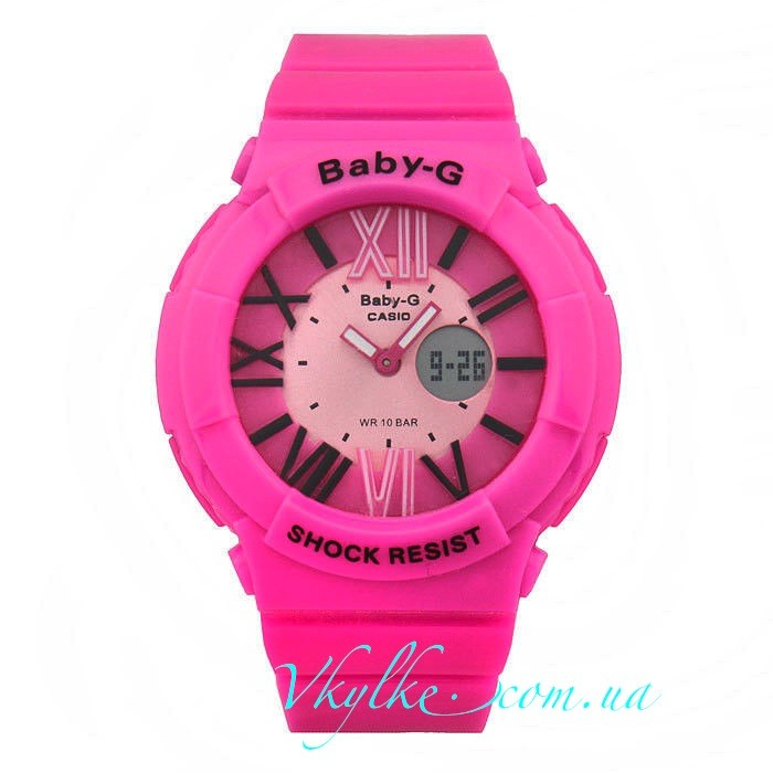 Casio Baby-G BGA-160 розовые