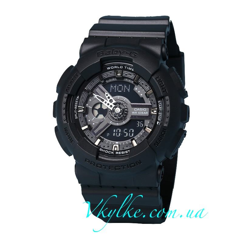 Часы CASIO BABY-G BA-110 black AAA