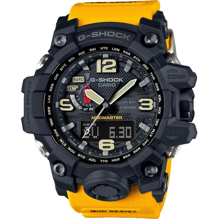 Casio G-Shock GWG-1000 yellow MUDMASTER AAA