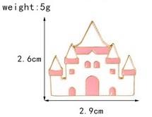 Значок м/ф Алиса в стране чудес замок