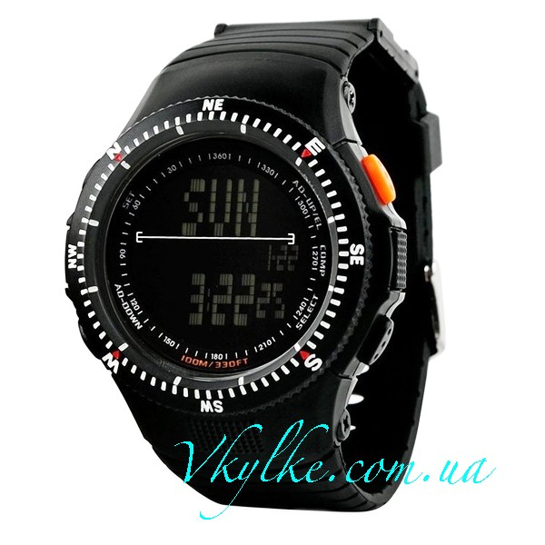 Спортивные часы Skmei 0989 черные