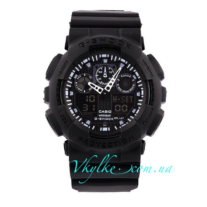 Копия Casio G-Shock GA-100 черные