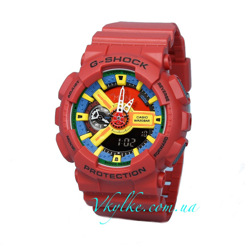 Часы CASIO G-SHOCK GA-110 Red AAA