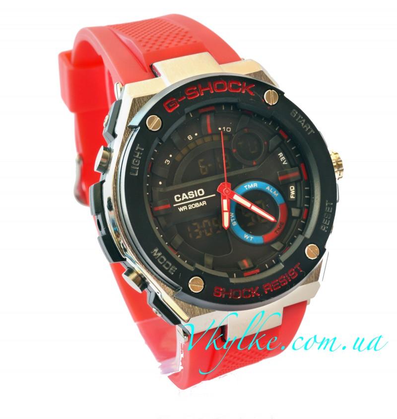 Часы CASIO G-SHOCK GST-210 красные