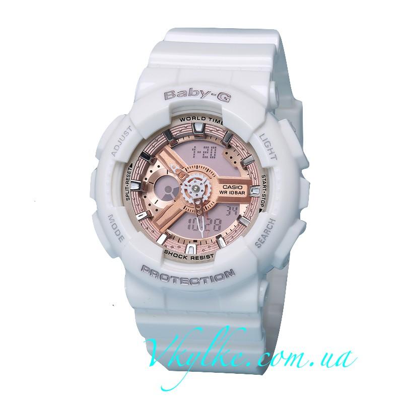 Часы CASIO BABY-G BA-110 Whiteπnk AAA