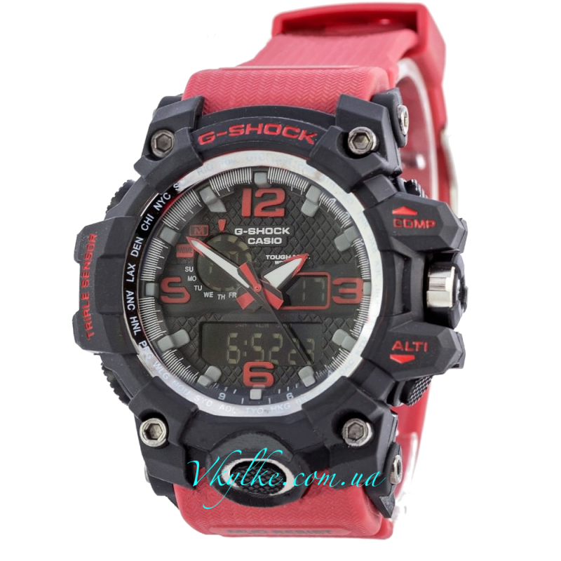 Часы CASIO G-SHOCK GWG-1000 бордовый
