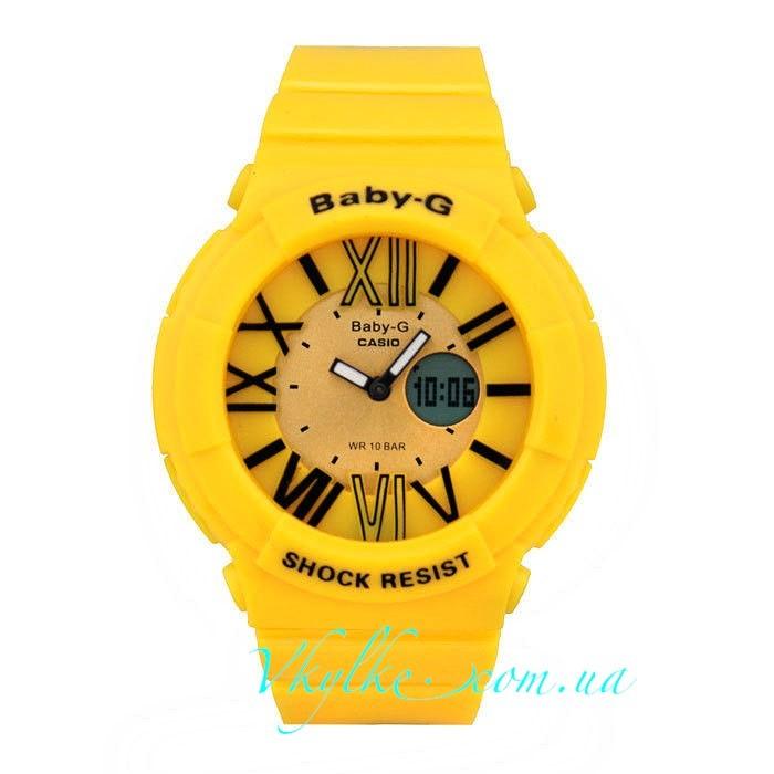 Casio Baby-G BGA-160 желтые