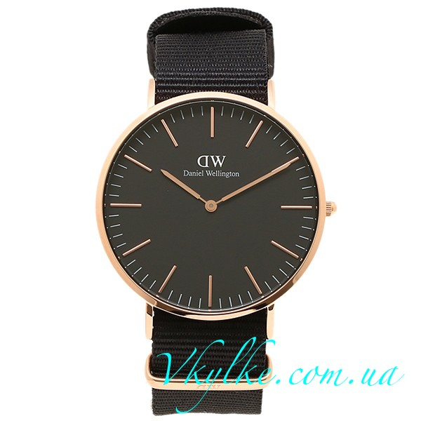 ЖЕНСКИЕ ЧАСЫ DANIEL WELLINGTON CLASSIC BLACK CORNWALL