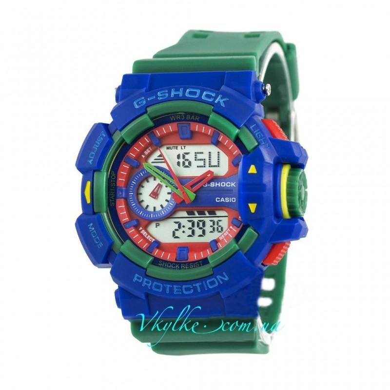Casio G-Shock GA-400 зеленые