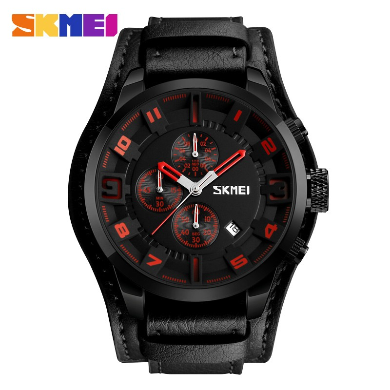 ЧАСЫ SKMEI 9165 Black Red