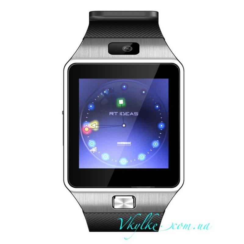 Smart Watch DZ09 черный с серебром