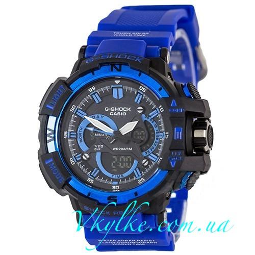Часы Casio G-Shock G-1100 с синим ремешком