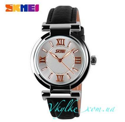 Женские часы Skmei 9075 черные