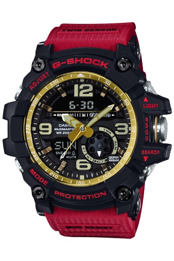 ЧАСЫ CASIO G-SHOCK GG-1000red AAA