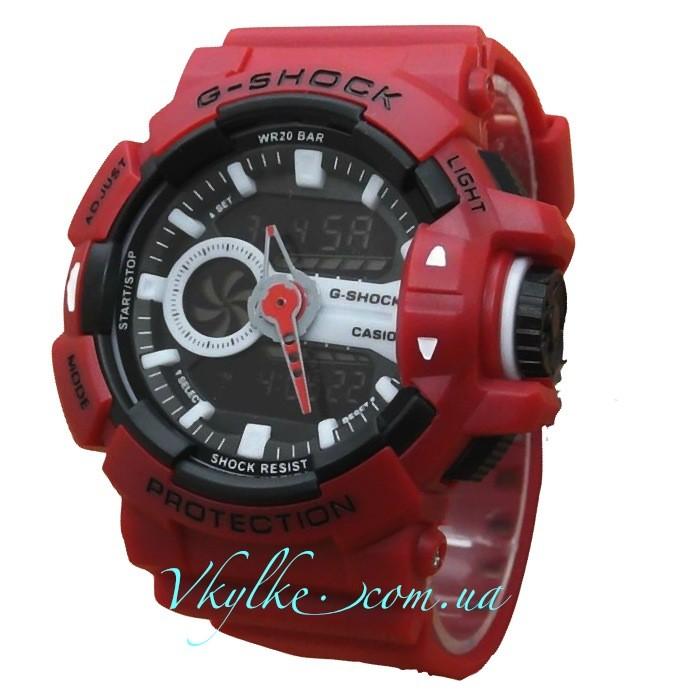 Casio G-Shock GA-400 красные