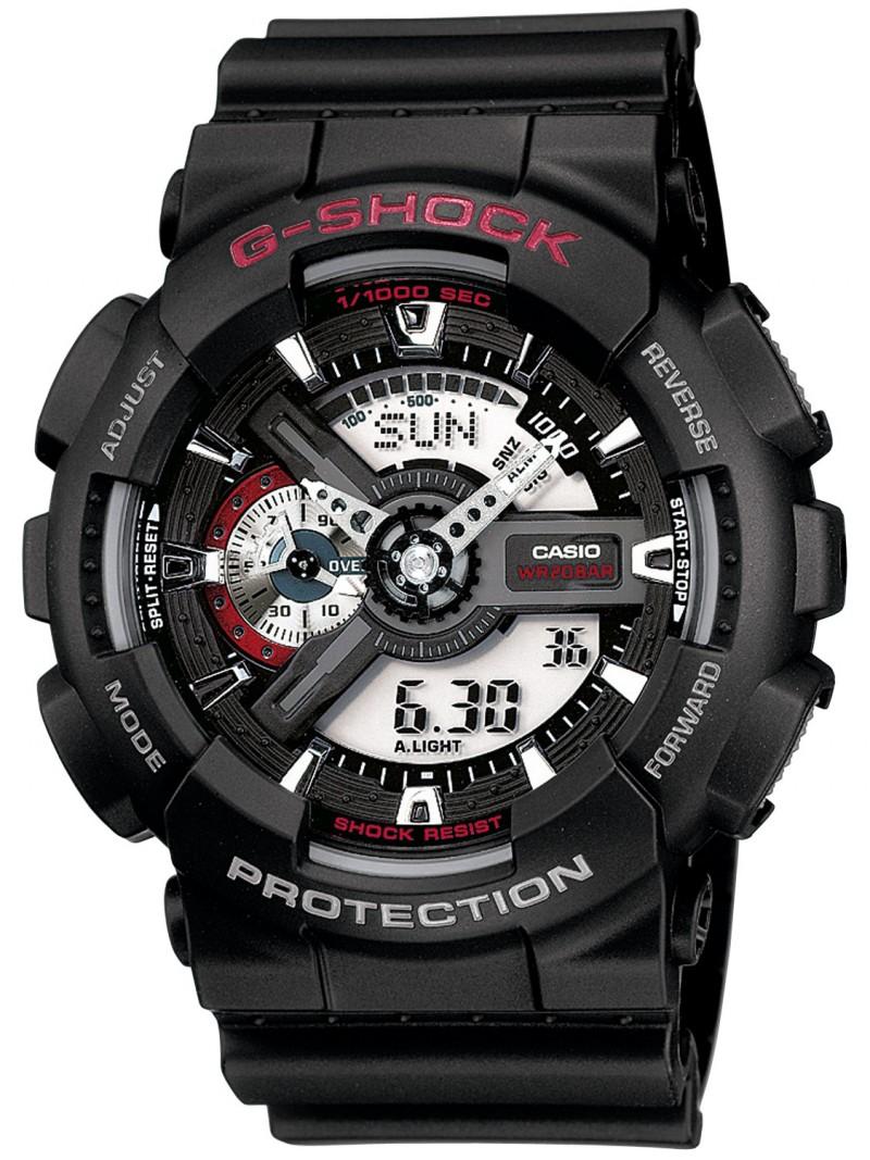 Casio G-Shock GA-110-1AER черные с красным