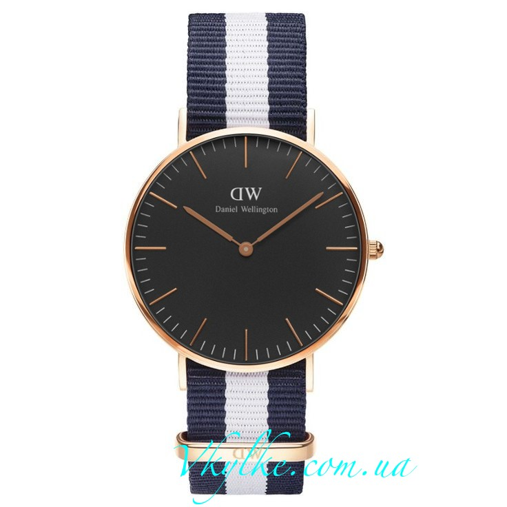 Часы DANIEL WELLINGTON BLACK GLASGOW