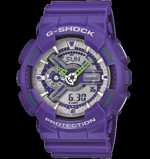 Casio G-Shock  GA-110DN-6AER фиолетовые