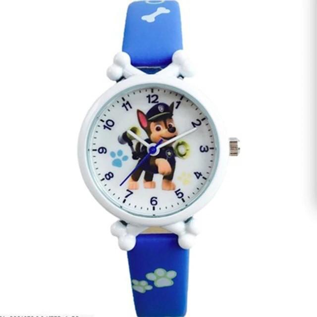 Детские часы Гончик синие PAW patrol Chase