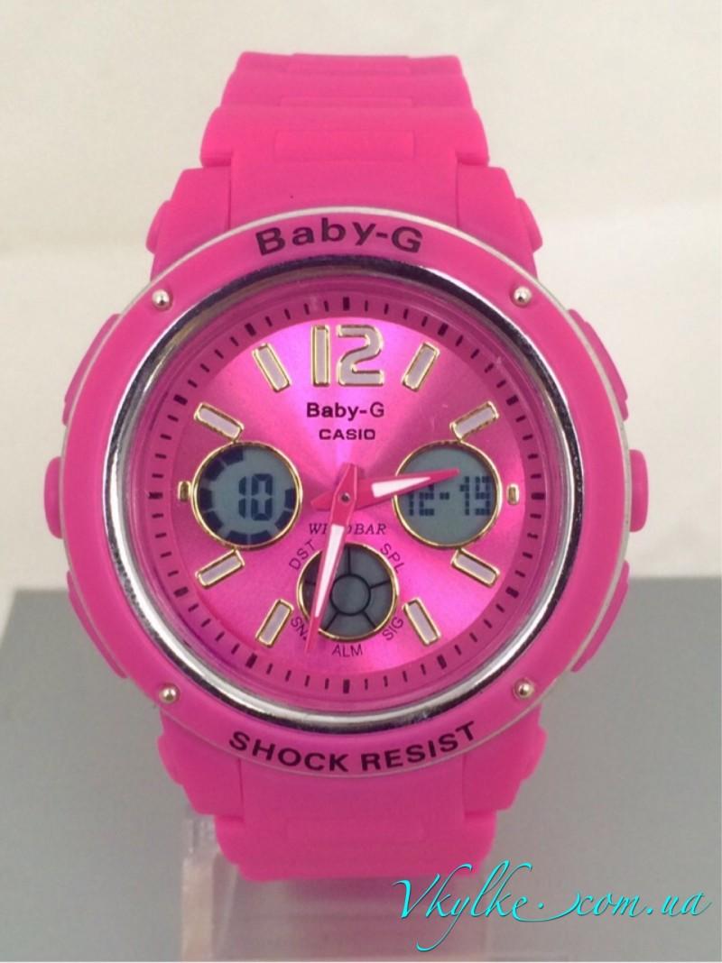 Casio Baby-G BGA-150 розовые