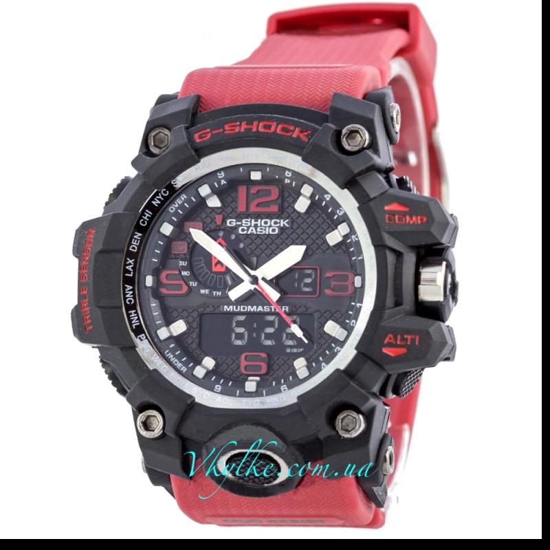 Часы G Shock GWG-A1000 MUDMASTER красные