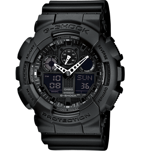 Casio G-Shock GA-100-1A1ER Black