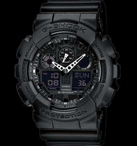 Casio G-Shock GA-100-1A1ER Black
