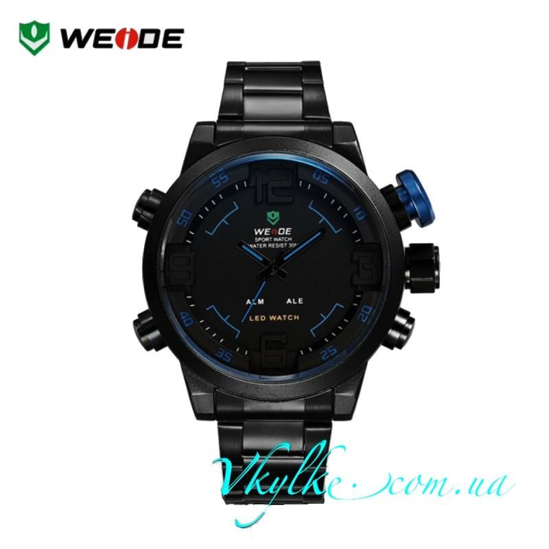 Weide Sport Watch WH-2309 черные с синим