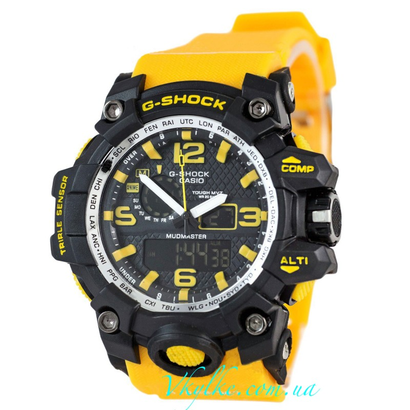 Часы Casio G-Shock GWG-1000 желтый