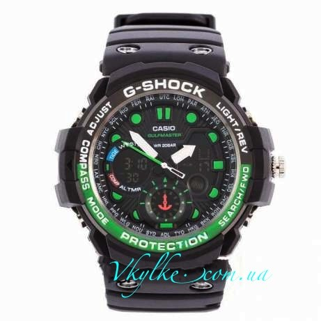 Casio G-Shock GN-1000черные с зеленым